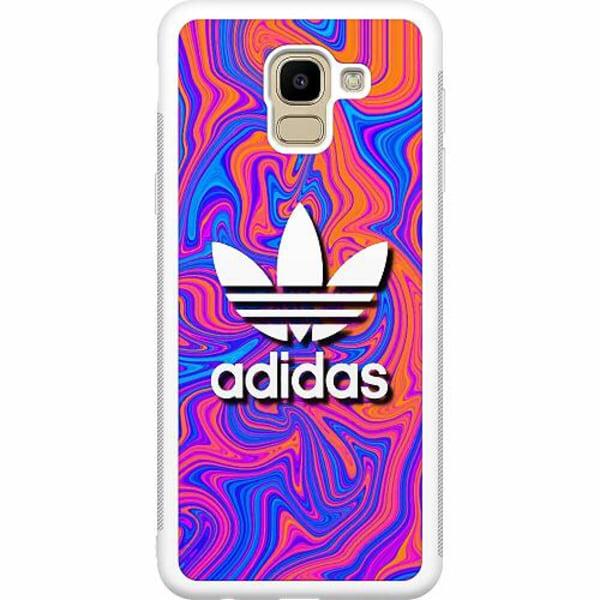 Samsung Galaxy J6 (2018) Soft Case (Vit) Fashion