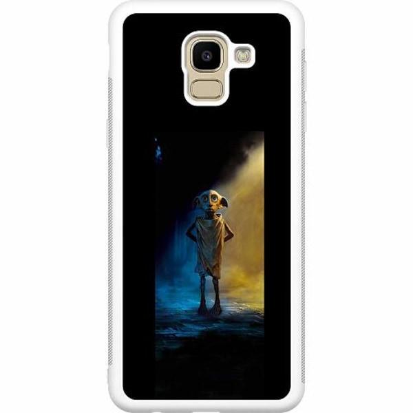 Samsung Galaxy J6 (2018) Soft Case (Vit) Harry Potter