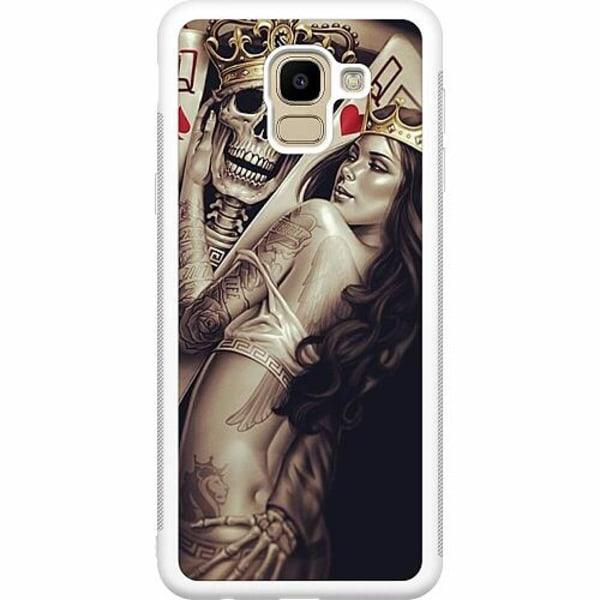 Samsung Galaxy J6 (2018) Soft Case (Vit) Let's Play...