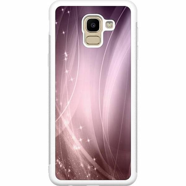 Samsung Galaxy J6 (2018) Soft Case (Vit) Rosa