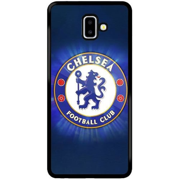 Samsung Galaxy J6 Plus (2018) Soft Case (Svart) Chelsea