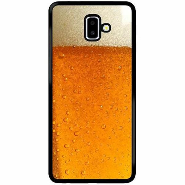 Samsung Galaxy J6 Plus (2018) Soft Case (Svart) Beer