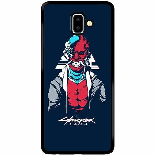 Samsung Galaxy J6 Plus (2018) Soft Case (Svart) Cyberpunk 2077