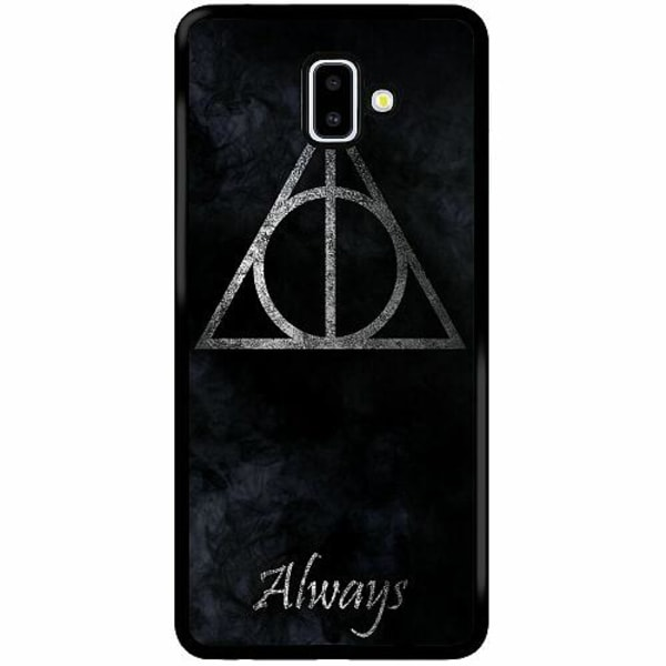 Samsung Galaxy J6 Plus (2018) Soft Case (Svart) Harry Potter