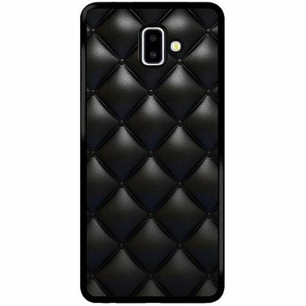 Samsung Galaxy J6 Plus (2018) Soft Case (Svart) Leather Black