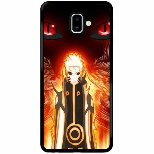 Samsung Galaxy J6 Plus (2018) Soft Case (Svart) Naruto