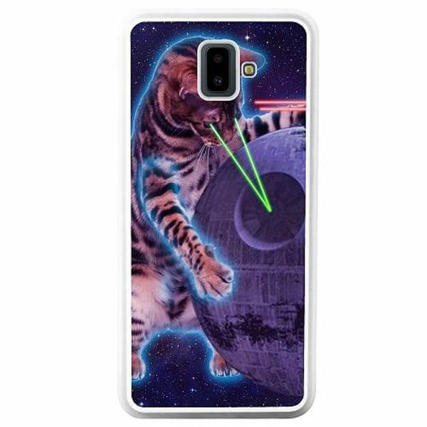 Samsung Galaxy J6 Plus (2018) Soft Case (Vit) Death star