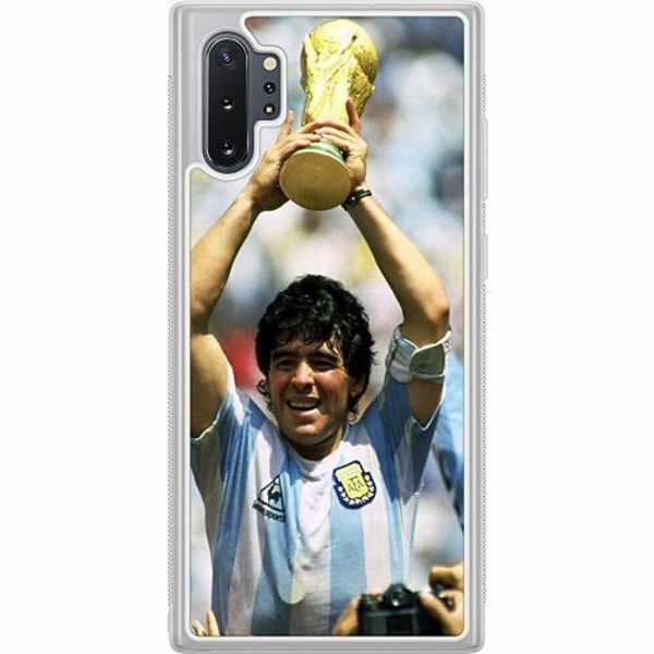 Samsung Galaxy Note 10 Plus Soft Case (Frostad) Diego Maradona