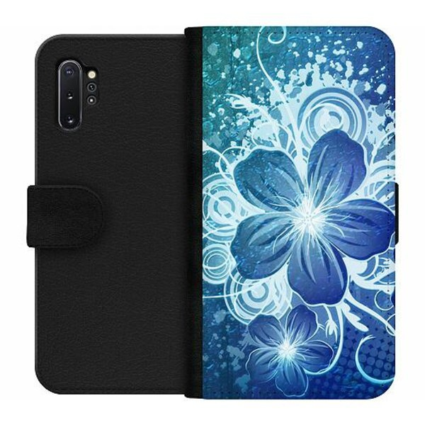 Samsung Galaxy Note 10 Plus Wallet Case Blommor