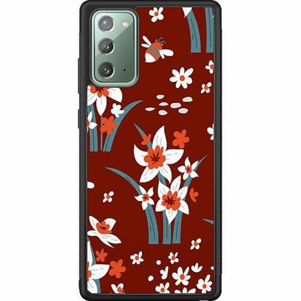 Samsung Galaxy Note 20 Soft Case (Svart) Bees n Stuff