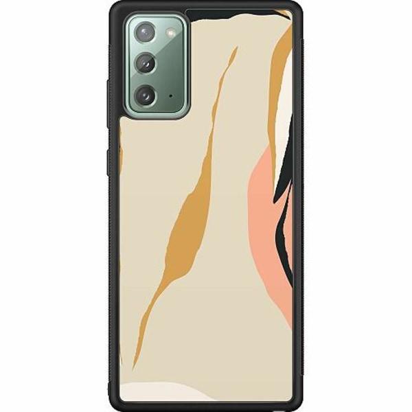 Samsung Galaxy Note 20 Soft Case (Svart) Beiges B