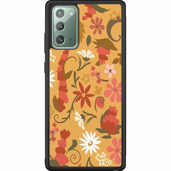 Samsung Galaxy Note 20 Soft Case (Svart) Bloomery