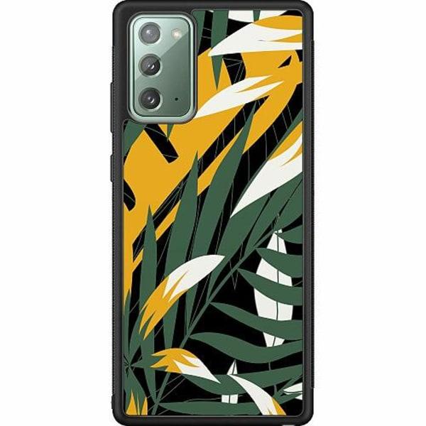 Samsung Galaxy Note 20 Soft Case (Svart) Glitching