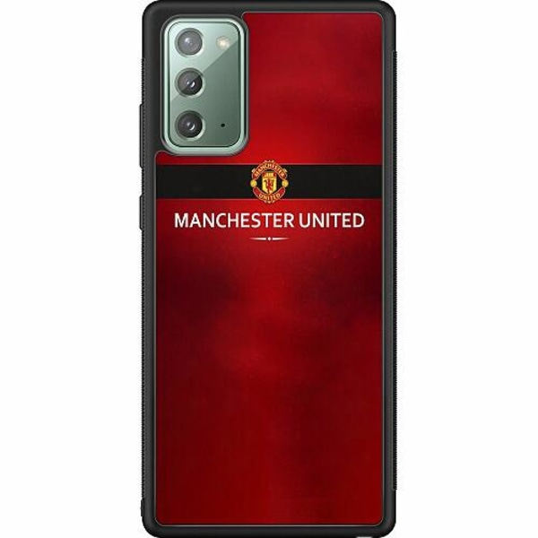 Samsung Galaxy Note 20 Soft Case (Svart) Manchester United