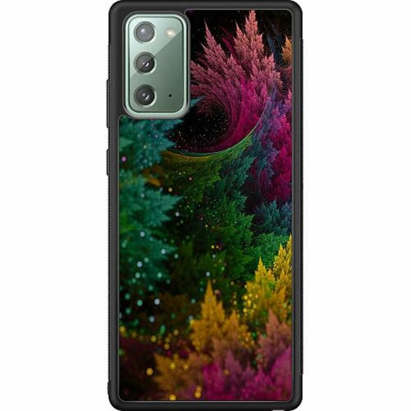 Samsung Galaxy Note 20 Soft Case (Svart) PixyDust