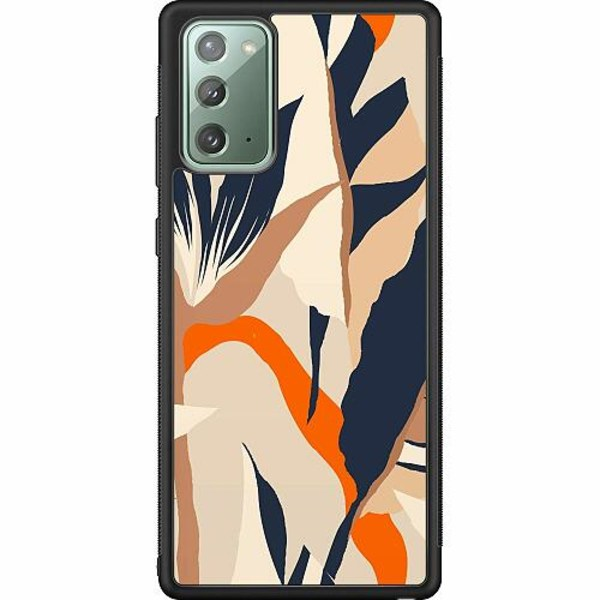 Samsung Galaxy Note 20 Soft Case (Svart) Powered By Beige