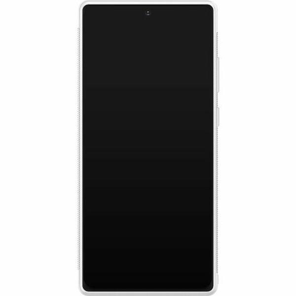 Samsung Galaxy Note 20 Soft Case (Vit) Fashion