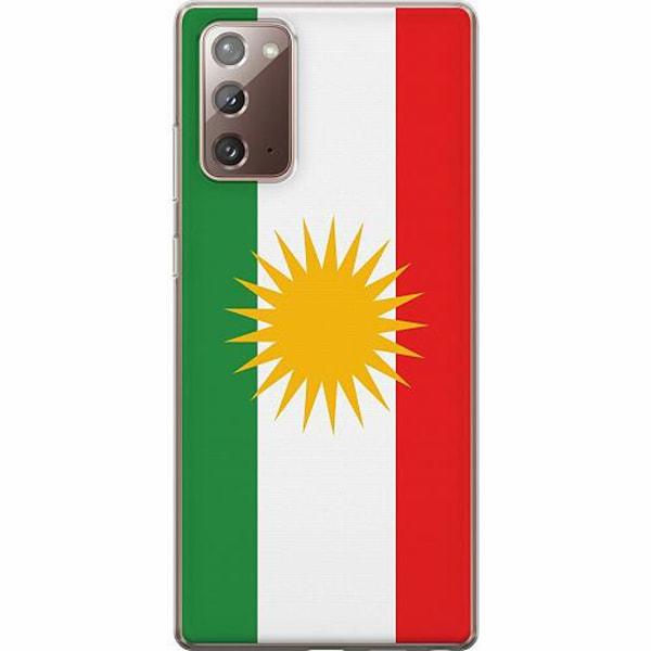 Samsung Galaxy Note 20 Thin Case Kurdistan