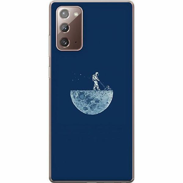Samsung Galaxy Note 20 Thin Case Mowing The Moon