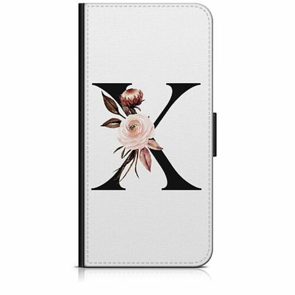Sony Xperia 5 Plånboksfodral Bokstäver