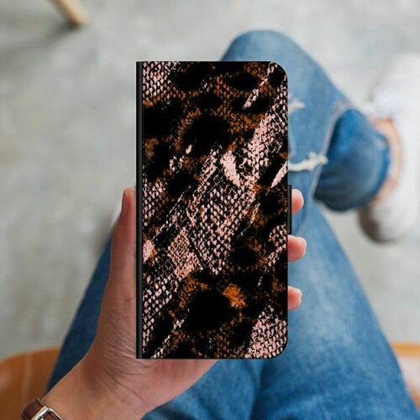 Samsung Galaxy Note 20 Ultra Plånboksskal Snakeskin B
