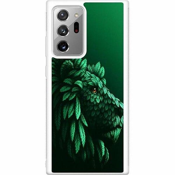 Samsung Galaxy Note 20 Ultra Soft Case (Vit) Vegan Lion