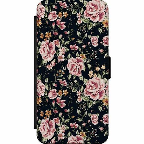 Samsung Galaxy Note 20 Wallet Slim Case Flowers