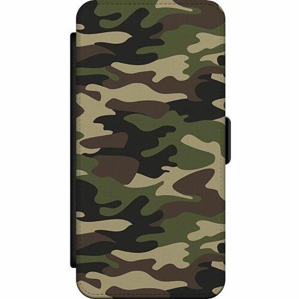 Samsung Galaxy Note 20 Wallet Slim Case Military