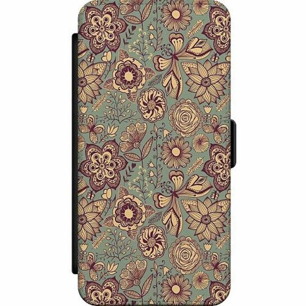Samsung Galaxy Note 20 Wallet Slim Case Vintage Flowers
