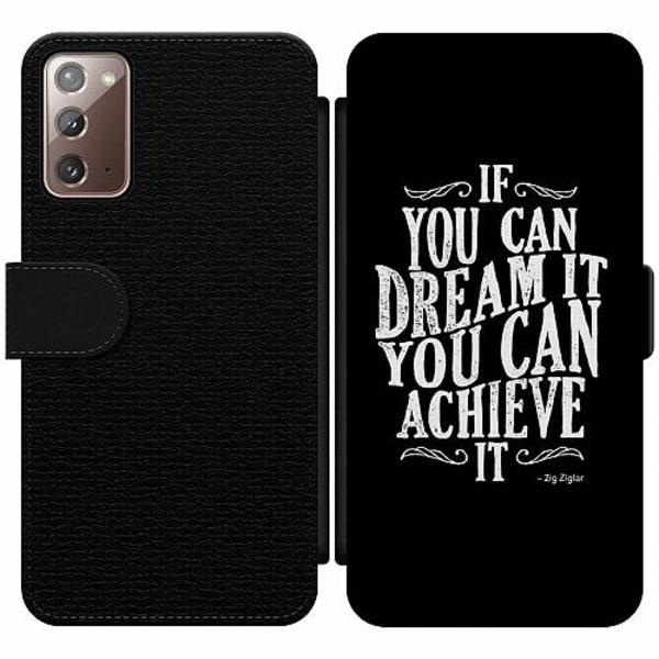Samsung Galaxy Note 20 Wallet Slim Case Achieve Your Dreams