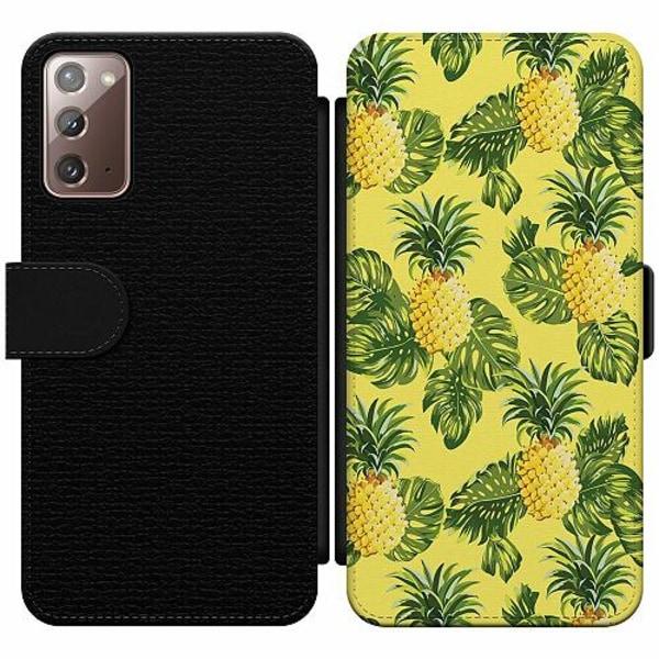 Samsung Galaxy Note 20 Wallet Slim Case Ananas