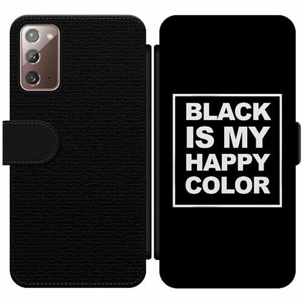 Samsung Galaxy Note 20 Wallet Slim Case Black
