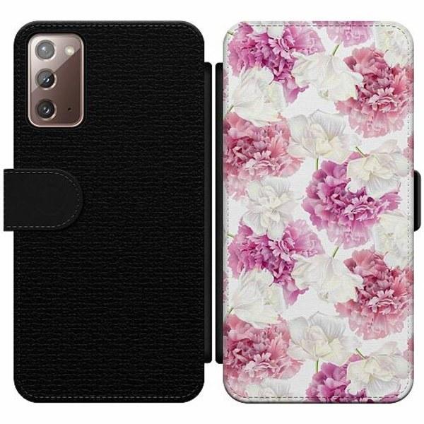 Samsung Galaxy Note 20 Wallet Slim Case Blommor
