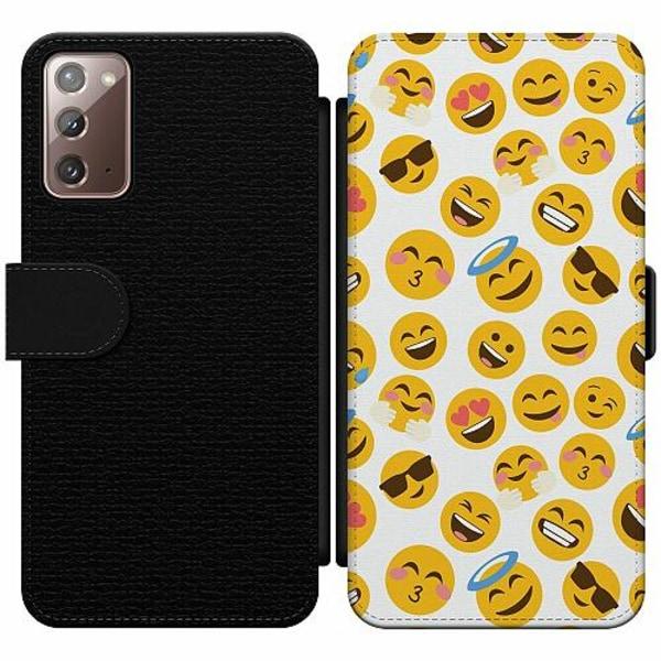 Samsung Galaxy Note 20 Wallet Slim Case Emoji Mania