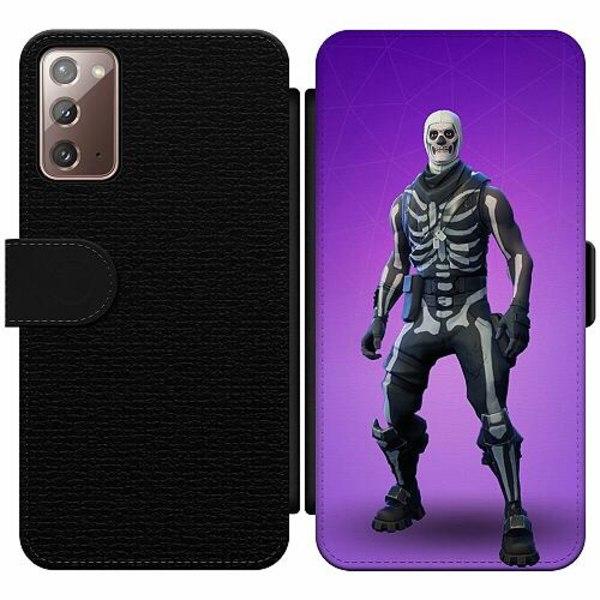 Samsung Galaxy Note 20 Wallet Slim Case Fortnite Skull Trooper