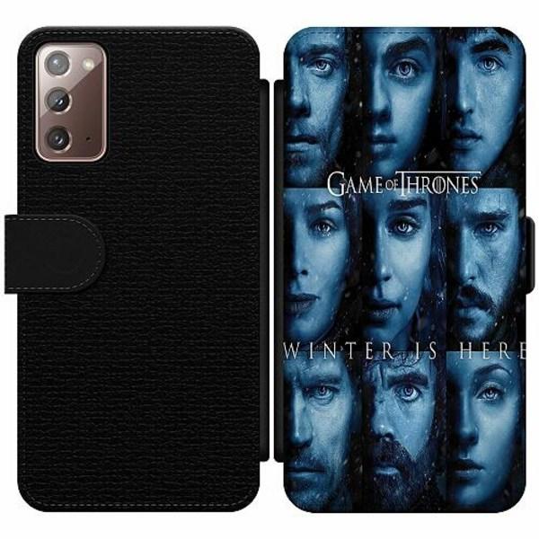 Samsung Galaxy Note 20 Wallet Slim Case Game of Thrones