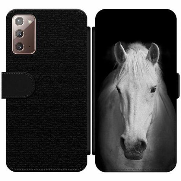 Samsung Galaxy Note 20 Wallet Slim Case Häst
