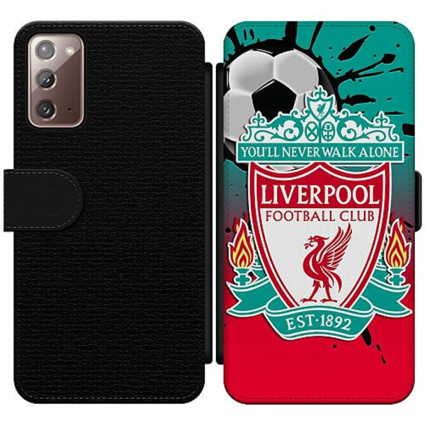 Samsung Galaxy Note 20 Wallet Slim Case Liverpool
