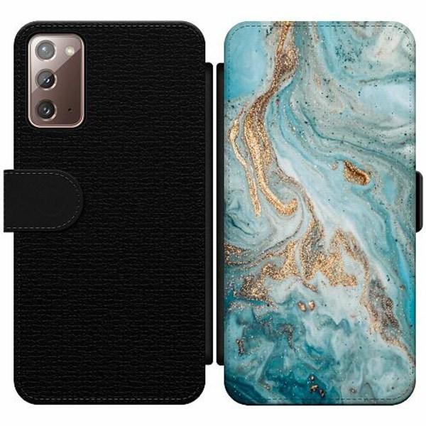 Samsung Galaxy Note 20 Wallet Slim Case Magic Marble
