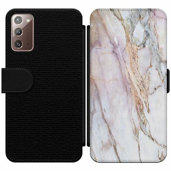 Samsung Galaxy Note 20 Wallet Slim Case Marmor