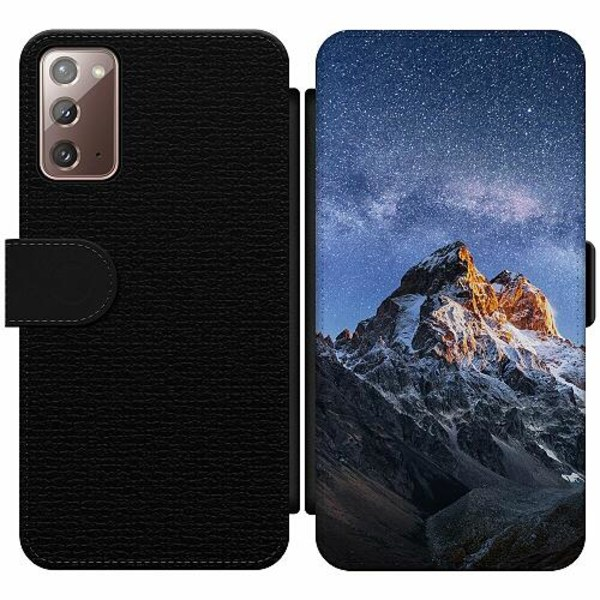 Samsung Galaxy Note 20 Wallet Slim Case Mountains