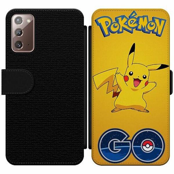 Samsung Galaxy Note 20 Wallet Slim Case Pokemon