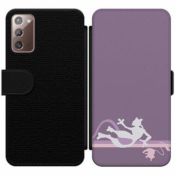 Samsung Galaxy Note 20 Wallet Slim Case Pokémon - Mew & Mewtwo