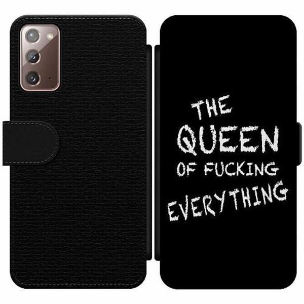 Samsung Galaxy Note 20 Wallet Slim Case Queen of Everything