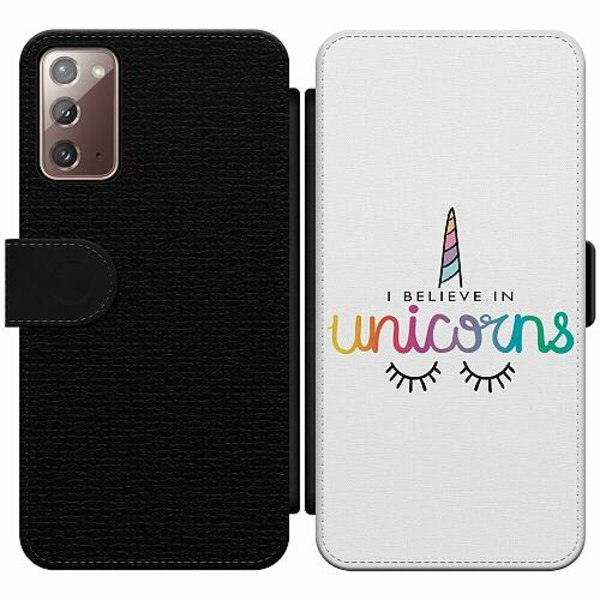 Samsung Galaxy Note 20 Wallet Slim Case Unicorn