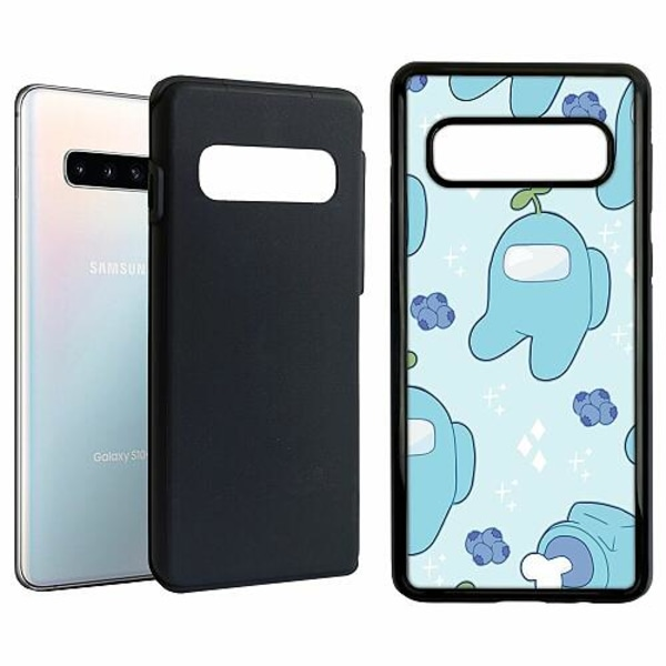 Samsung Galaxy S10 Duo Case Svart Among Us