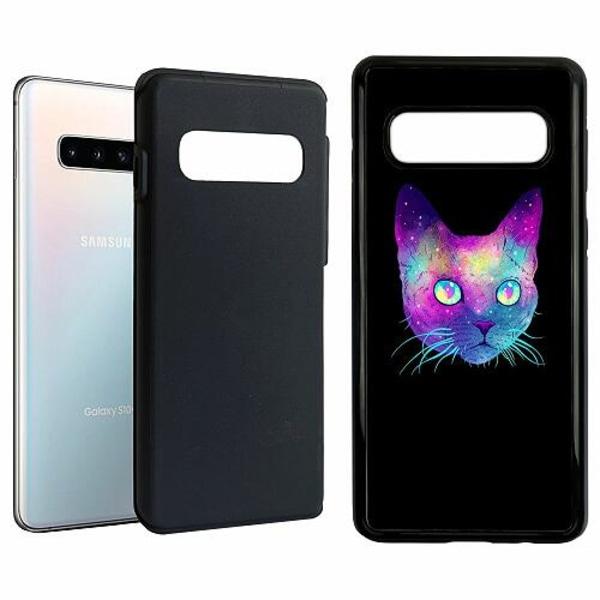 Samsung Galaxy S10 Duo Case Svart Cat