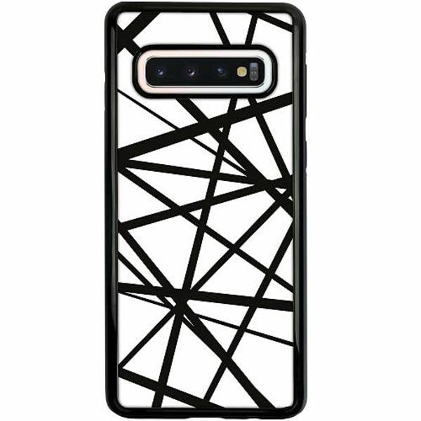 Samsung Galaxy S10 Duo Case Svart Caught In Webs