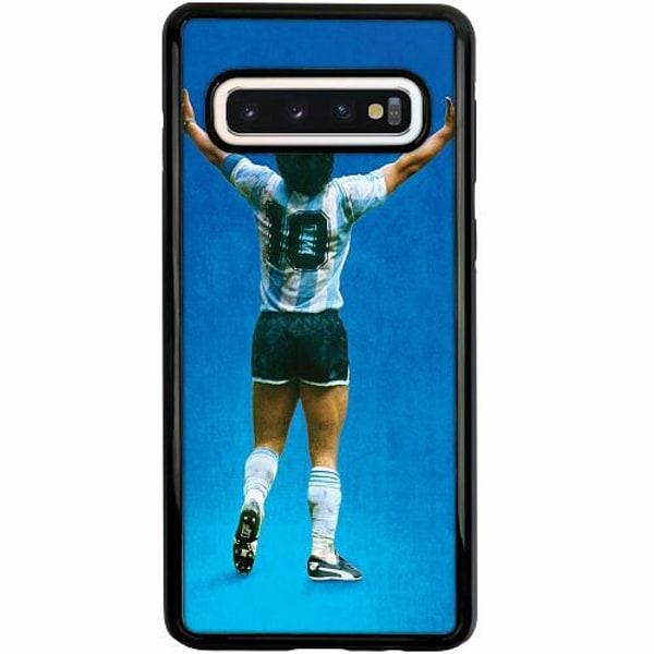 Samsung Galaxy S10 Duo Case Svart Diego Maradona
