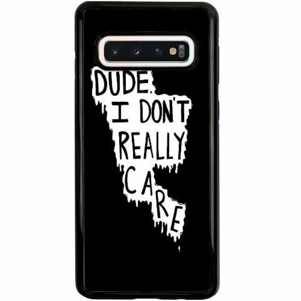 Samsung Galaxy S10 Duo Case Svart DUDE.